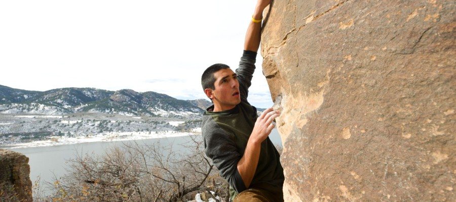 Climbing at Colorado State University