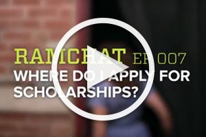 RamChat: How to apply for scholarships