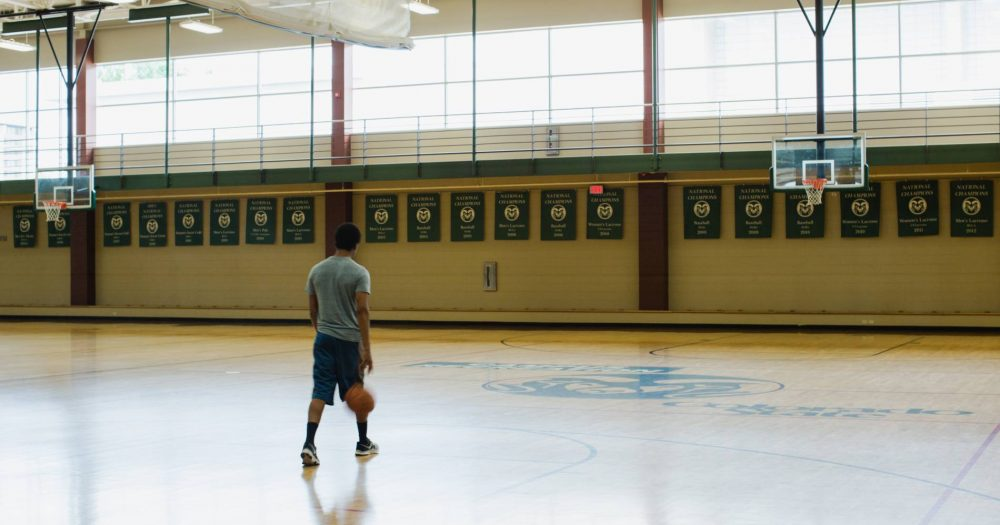 Blog Header: Rec Center Basketball Court