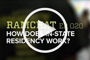 RamChat: How does in-state residency work?