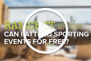 Ramchat: Can I attend sporting events for free?