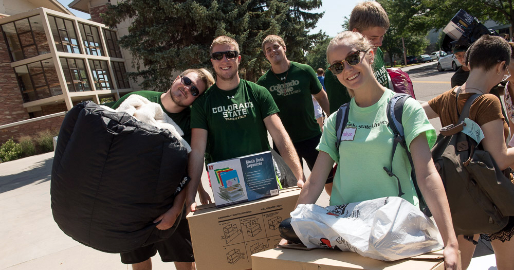 Move-in tip: Say yes to volunteer help.