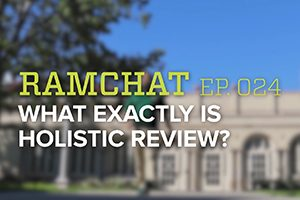 Video: What exactly is holistic review?