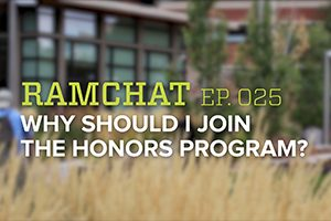RamChat: Why should I join the Honors Program?