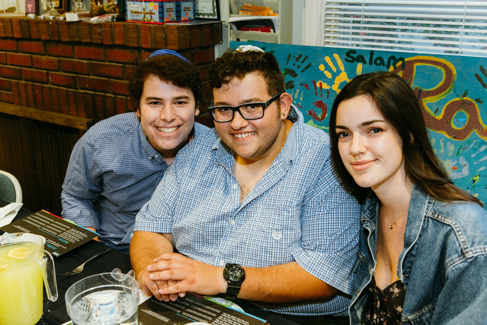 Members of Hillel. Alex describes CSU as a 'small but mighty' community that prides itself on hospitality.