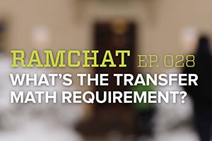 Ramchat: The Transfer math requirement