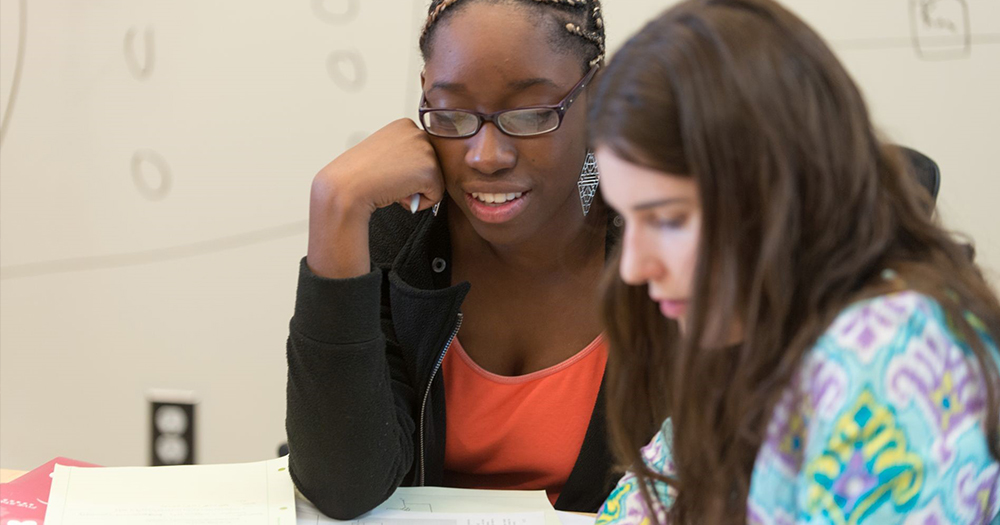 Students participate in free tutoring at TILT.