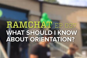 Ramchat: What should I know about orientation?